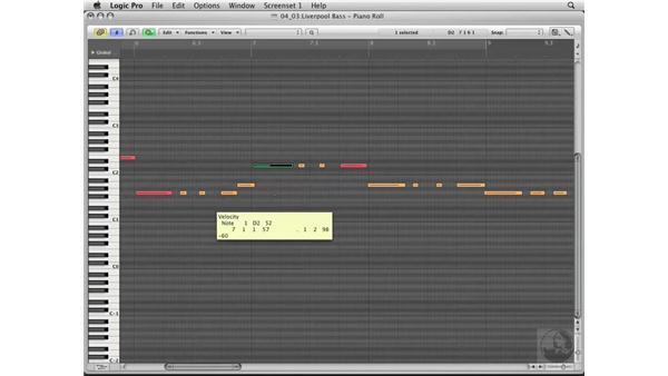 Tracking a virtual bass: Logic Pro 8 Essential Training