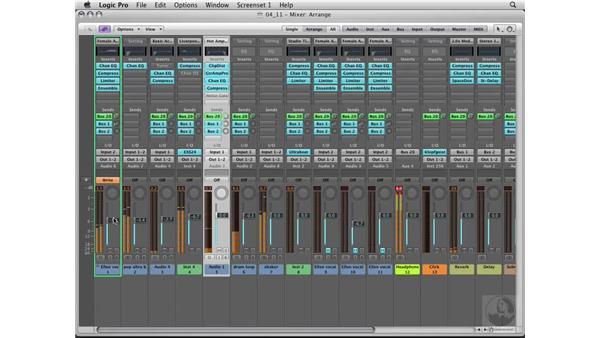 Recording vocal automation: Logic Pro 8 Essential Training