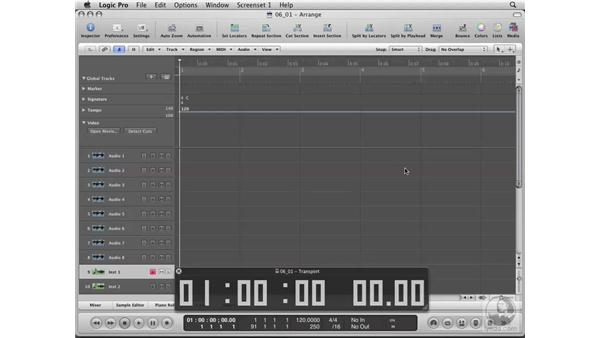 Using Logic with video: Logic Pro 8 Essential Training
