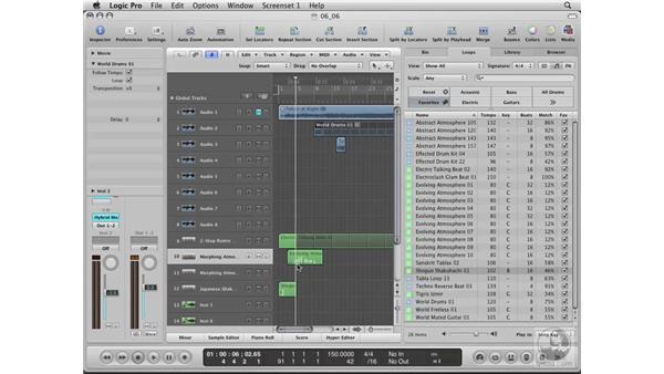 Scoring a movie: Logic Pro 8 Essential Training