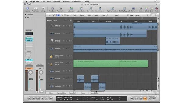 Final touch-ups : Logic Pro 8 Essential Training