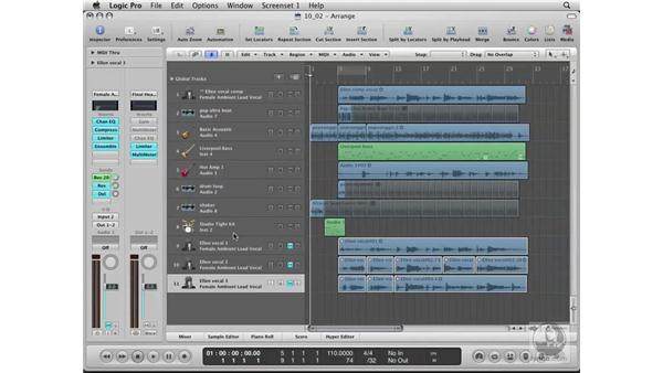 Archiving your project: Logic Pro 8 Essential Training