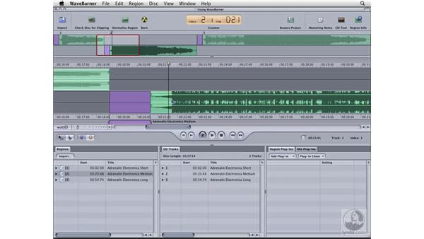 Timing your tracks: Logic Pro 8 Essential Training