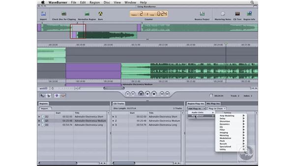Processing the audio: Logic Pro 8 Essential Training
