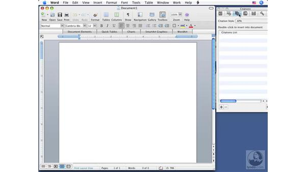 Understanding the user interface: Office for Mac 2008 New Features