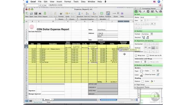 Using Formula AutoComplete: Office for Mac 2008 New Features