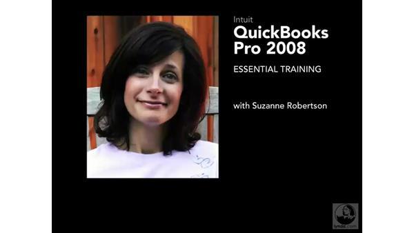 Welcome: QuickBooks Pro 2008 Essential Training