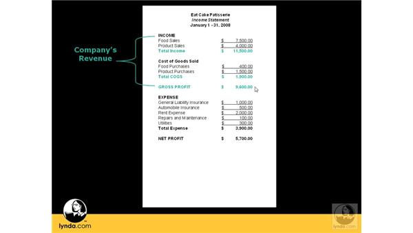 Creating an income statement: QuickBooks Pro 2008 Essential Training