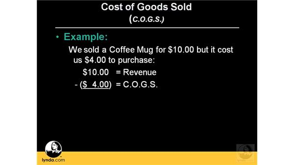 Understanding the cost of goods sold: QuickBooks Pro 2008 Essential Training