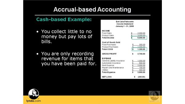 Differentiating accrual from cash-based accounting: QuickBooks Pro 2008 Essential Training