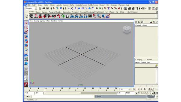 Working with files and Maya projects: Maya 2008 Essential Training
