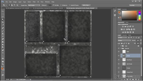 Crafting specular, roughness, normal, and metalness maps for physically based rendering workflows: 3D Textures: Metals