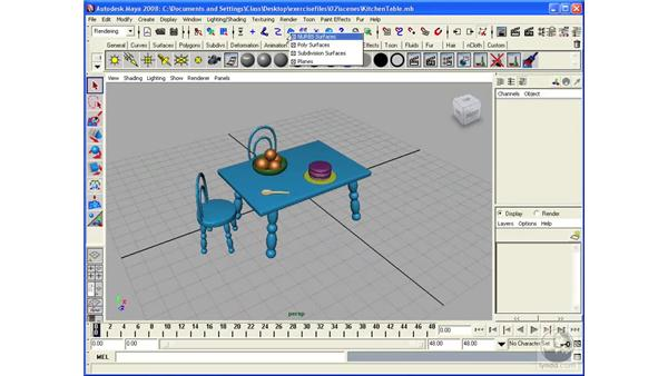 Working with selection masks: Maya 2008 Essential Training