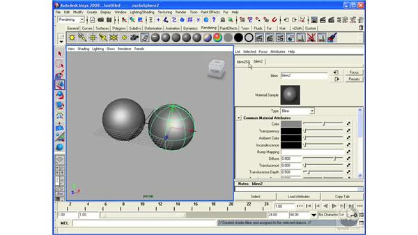 Performing displacement and bump mapping: Maya 2008 Essential Training