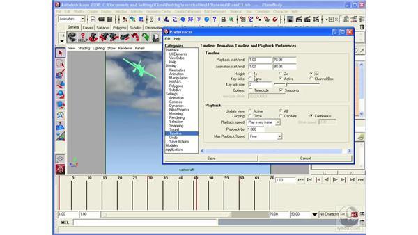 Understanding the basics of animation: Maya 2008 Essential Training