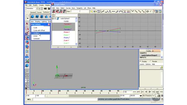 Creating animation cycles: Maya 2008 Essential Training