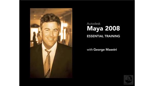 Goodbye: Maya 2008 Essential Training