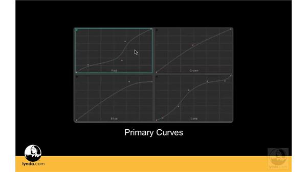 Understanding Primary Curves vs. Color Balance controls: Apple Color Essential Training