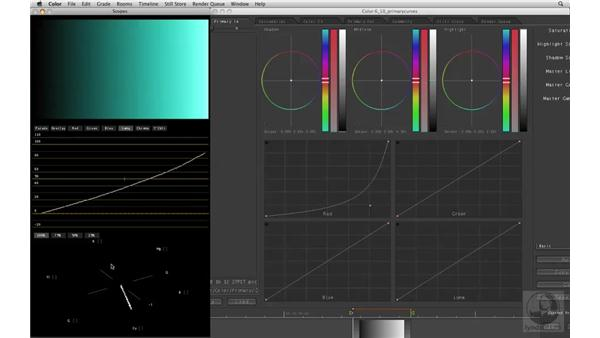 Using Primary Curves: Apple Color Essential Training