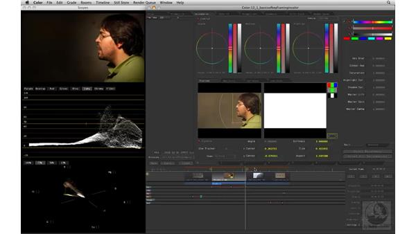 Basics of Keyframing in Color: Apple Color Essential Training