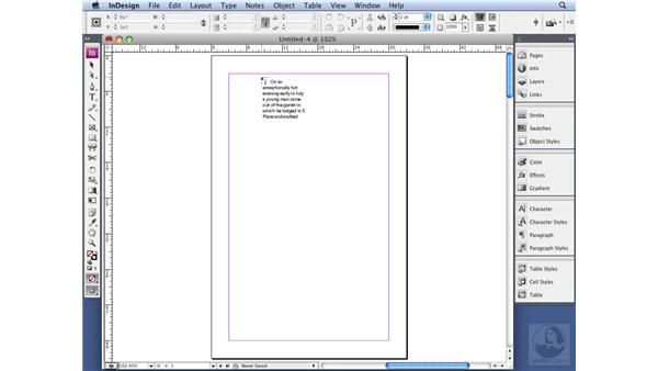 Using Autoflow without adding pages: InDesign CS3 Professional Typography