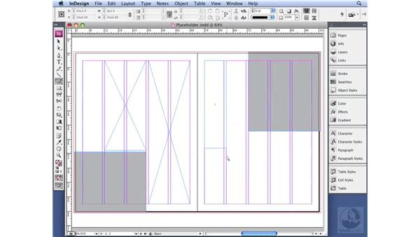 Mocking up pages with placeholder text: InDesign CS3 Professional Typography