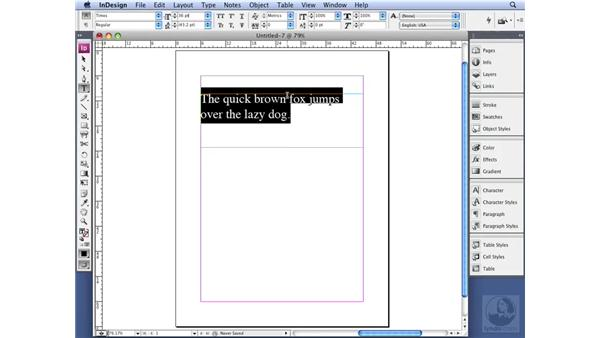 Sizing type: InDesign CS3 Professional Typography