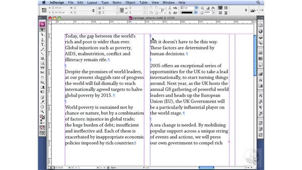 Using paragraph spacing: InDesign CS3 Professional Typography