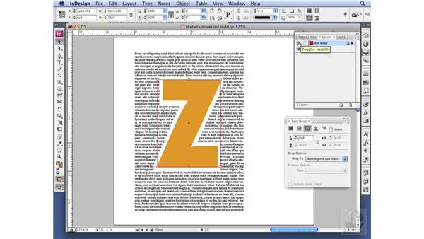 Using Text Wrap tricks: InDesign CS3 Professional Typography
