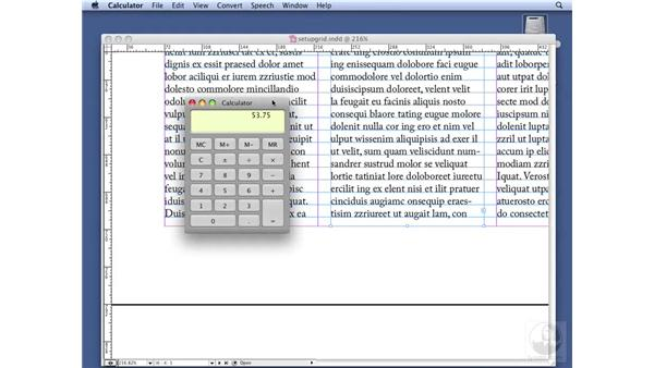 Determining the size of your type area: InDesign CS3 Professional Typography