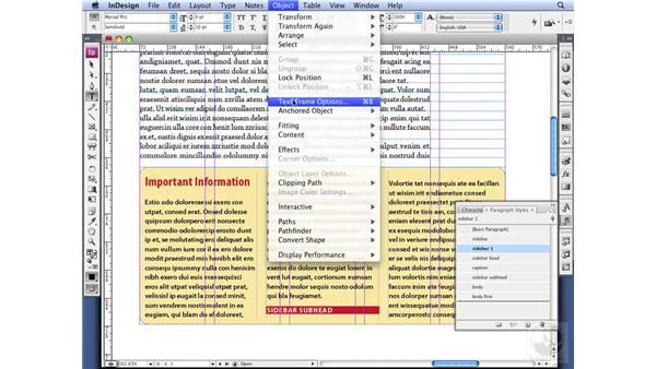 Customizing baseline grids: InDesign CS3 Professional Typography