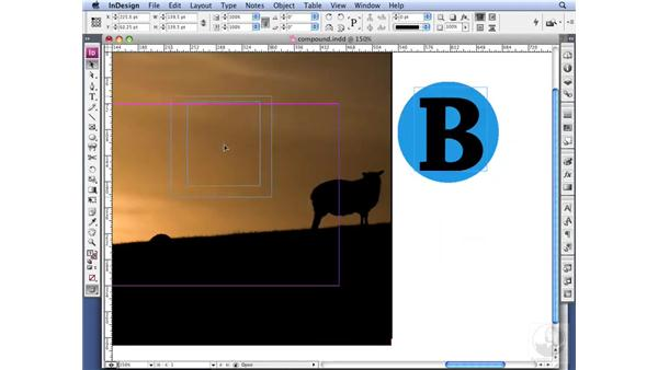 Creating see-through letters: InDesign CS3 Professional Typography