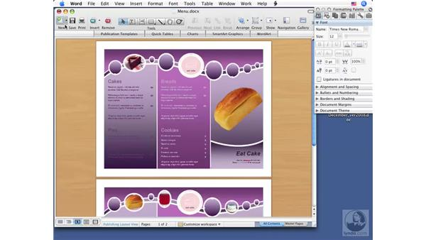 Using Quick Print: Word 2008 for Mac Essential Training