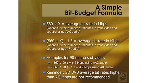 Understanding Bit Budgeting: Compressor 3 Essential Training