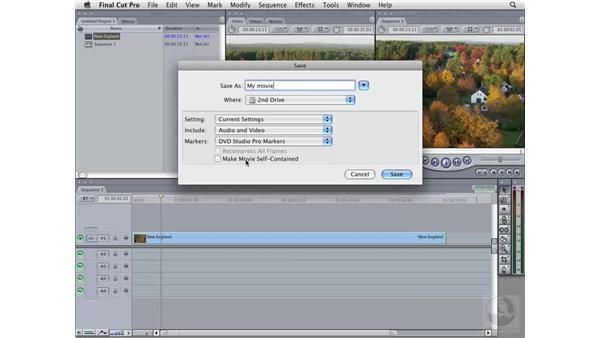 Exporting from Final Cut Pro: Compressor 3 Essential Training