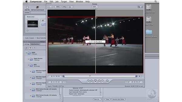 Cropping your video: Compressor 3 Essential Training