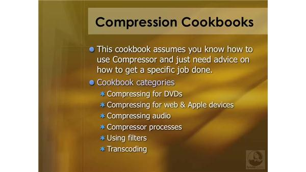 Understanding the Cookbook: Compressor 3 Essential Training