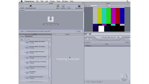 Compressing HDV for DVD: Compressor 3 Essential Training