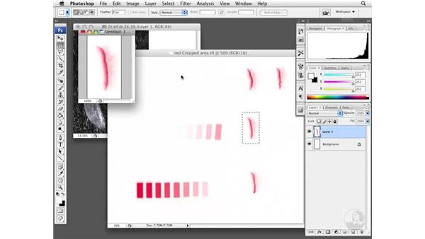 Comparing resolution and size: Photoshop CS3 Extended: Research Methods and Workflows