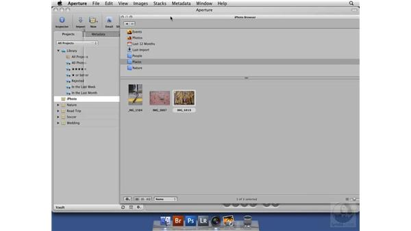 Integrating with iPhoto : Aperture 2 New Features