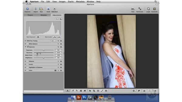Highlighting hot and cold areas: Aperture 2 New Features