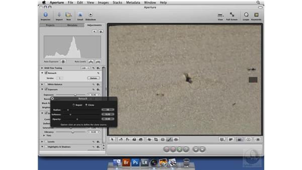 Understanding the Retouch tool: Aperture 2 New Features