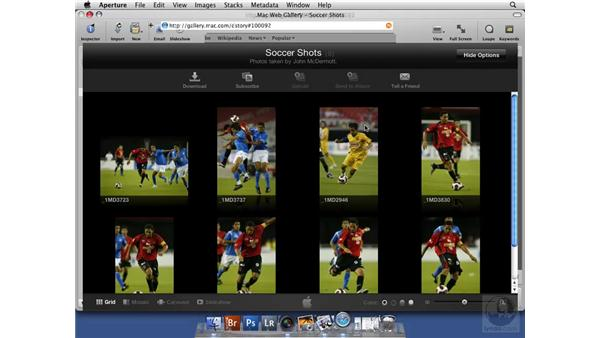 Publishing to a .Mac Web Gallery: Aperture 2 New Features