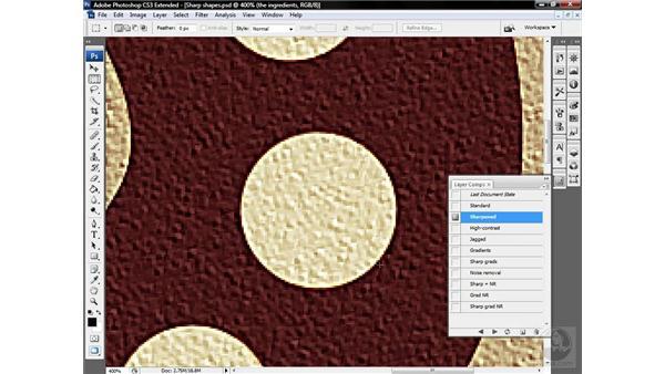 Understanding the mechanics of sharpening: Photoshop CS3 Sharpening Images