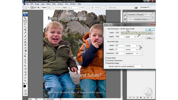 Downsampling (and why you shouldn't upsample): Photoshop CS3 Sharpening Images