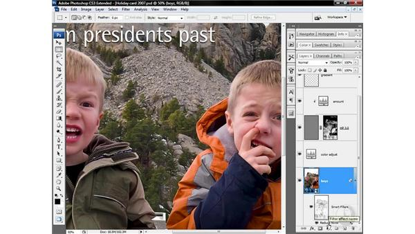 Recognizing problems with the conventional workflow: Photoshop CS3 Sharpening Images