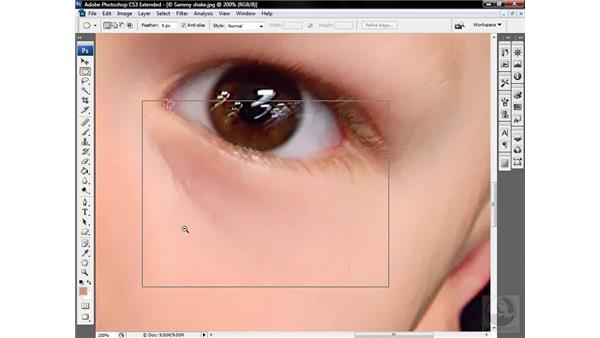 Using Smart Blur and Surface Blur: Photoshop CS3 Sharpening Images
