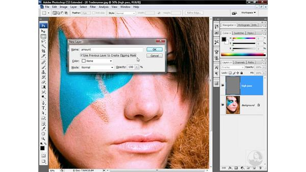 Employing a static High Pass layer: Photoshop CS3 Sharpening Images