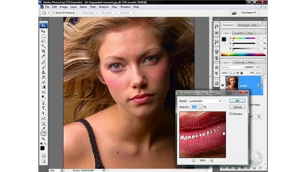 Sharpening and smoothing: Photoshop CS3 Sharpening Images