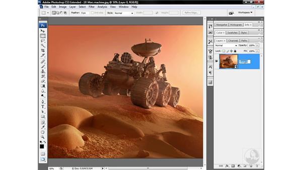 Sharpening a medium-frequency image: Photoshop CS3 Sharpening Images
